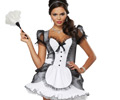 Luxe French Maid Adult Costume