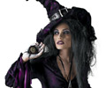Sorceress Dress and Hat Adult Costume