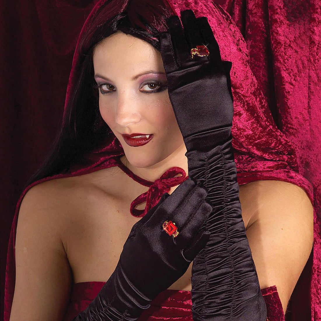 Long Sexy Vampiress Gloves