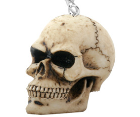 Skull Key Chain - Resin