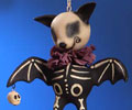 Skelly Animal Ornament - Bat