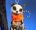 Skelly Animal Ornament - Cat