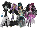 Monster High Ghouls Rule Dolls Halloween Costumes 2012 (4)