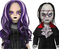 Beauty and the Beast Living Dead Dolls Set
