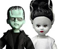Frankenstein and The Bride Living Dead Dolls Set