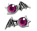 Matins Bat Earrings (pair) by Alchemy Gothic