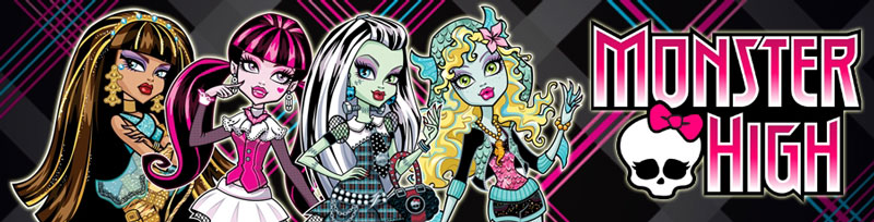 Monster High Dolls banner
