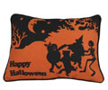 Moonlight Dance Halloween Pillow