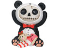 Furrybones Pandie with Doll Figurine