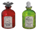 Halloween Decorative Potion Jars (Set of 4)