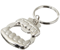 Vampire Fangs Bottle Opener Key Chain