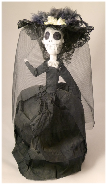 My House of Aberrant Day of the Dead Bride