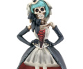 Gothic Skeleton Girl Figurine