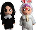 Living Dead Dolls Plush Series 1 Sadie and Eggzorcist