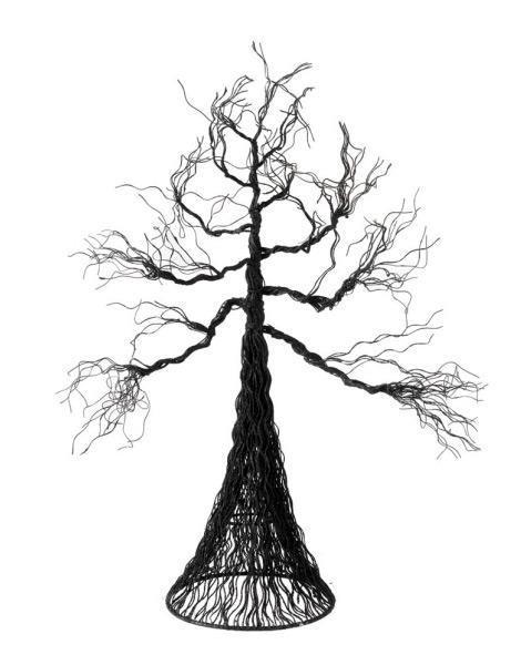 spooky tree black metal house of aberrant