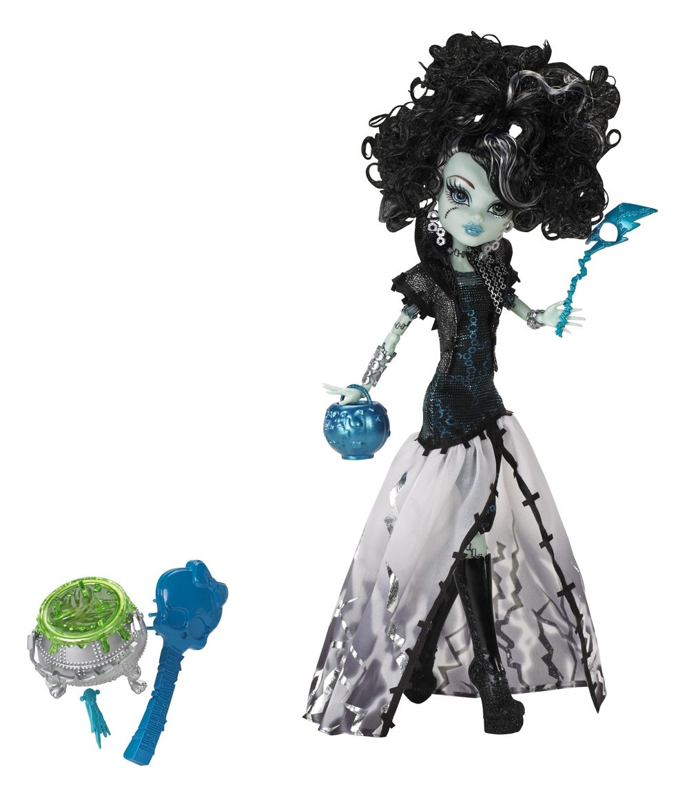 Monster High Ghouls Rule Dolls - Frankie Stein Halloween Costume [X3714]  sc 1 st  House of Aberrant & Monster High Ghouls Rule Dolls - Frankie Stein Halloween Costume ...